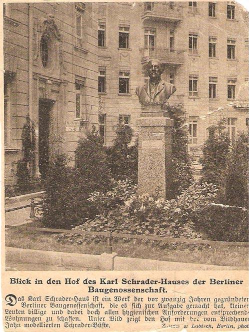 Büste Von Karl Schrader