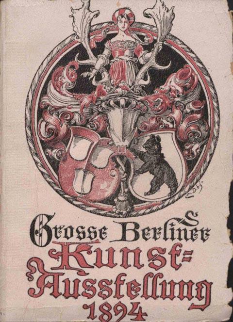 Berliner kunst ausstellung 1894