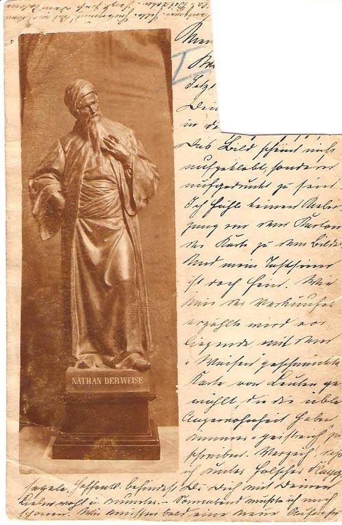 Statuette nathan der weise for Raumgestaltung nathan der weise